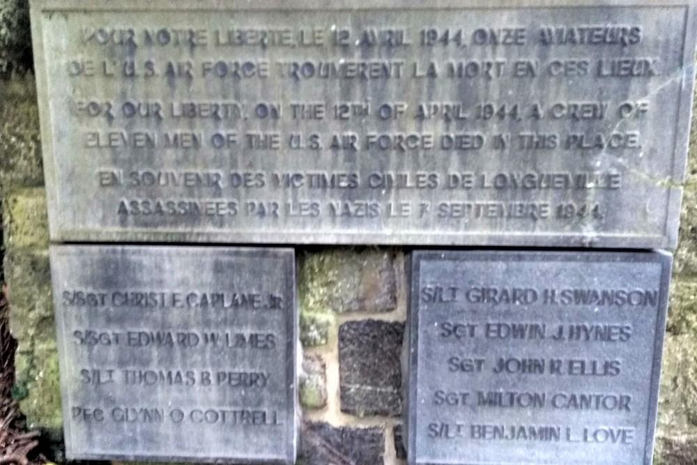 Monument Crash B-24J 42-100203