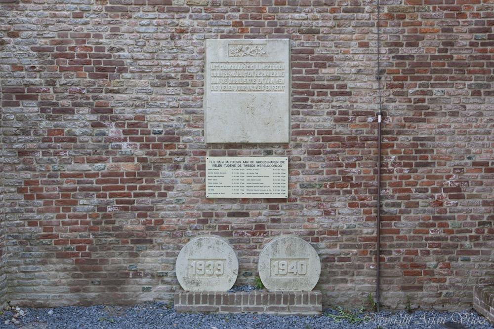 Mobilization memorial Groede
