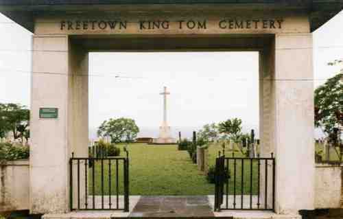 Commonwealth War Graves King Tom Cemetery