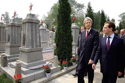 Russisch-Sovjet Oorlogsbegraafplaats Dalian
