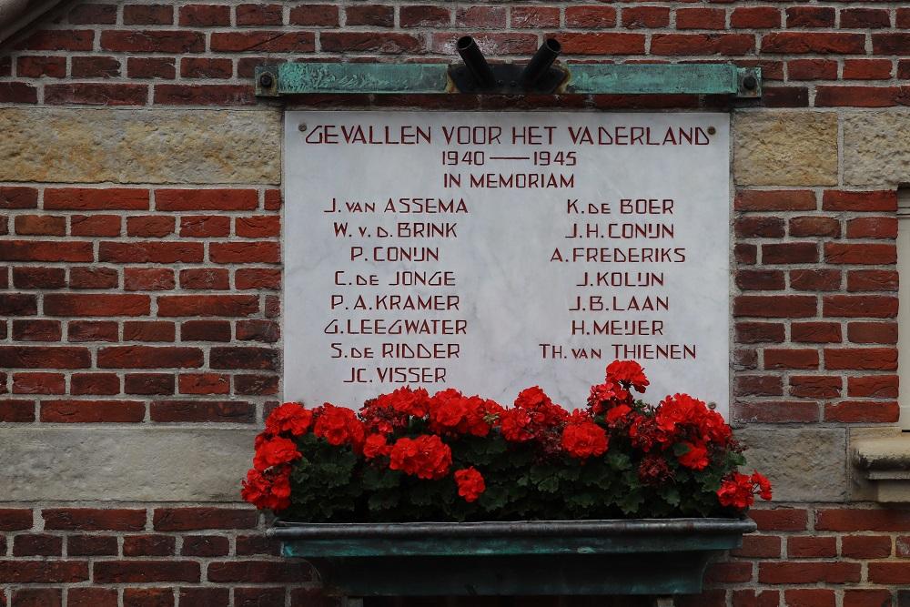 War Memorial Purmerend