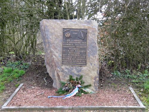 Monument 504th Parachute Infantry Regiment