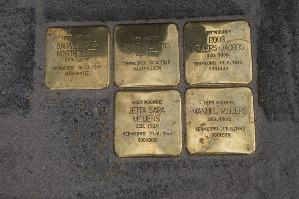 Stumbling Stones Frans Halslaan 66 Zutphen