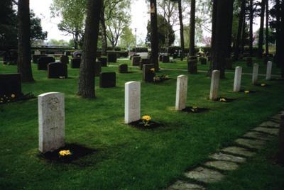 Commonwealth War Graves Falkenberg