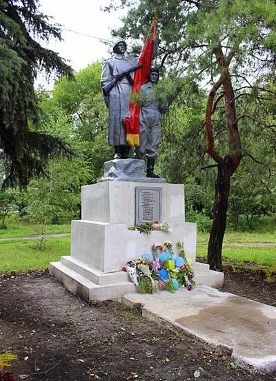 Mass Grave Soviet Soldiers Donetsk