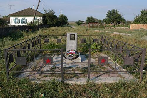 Grave Russian Pilot