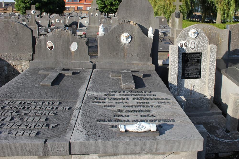Graves Civilian Casualties Ostend