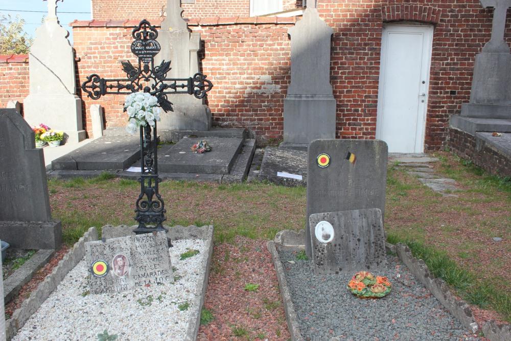 Belgian War Graves Anvaing