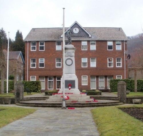War Memorial Abercarn