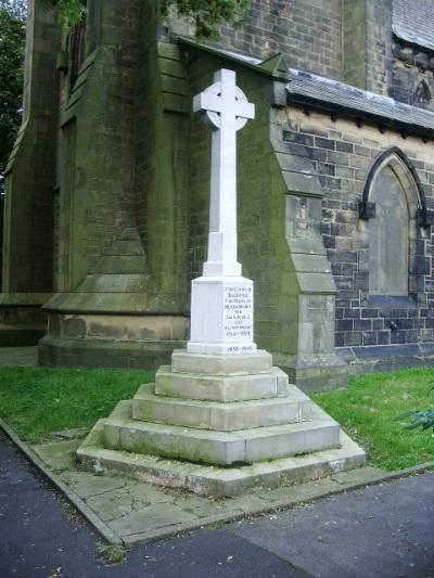 Oorlogsmonument All Saints with St John the Baptist Church