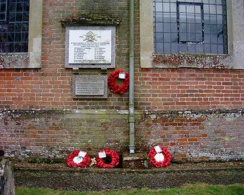 War Memorial Abbotts Ann