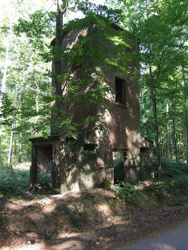 Maginotlinie - Wachtershuis Fort Schoenenbourg