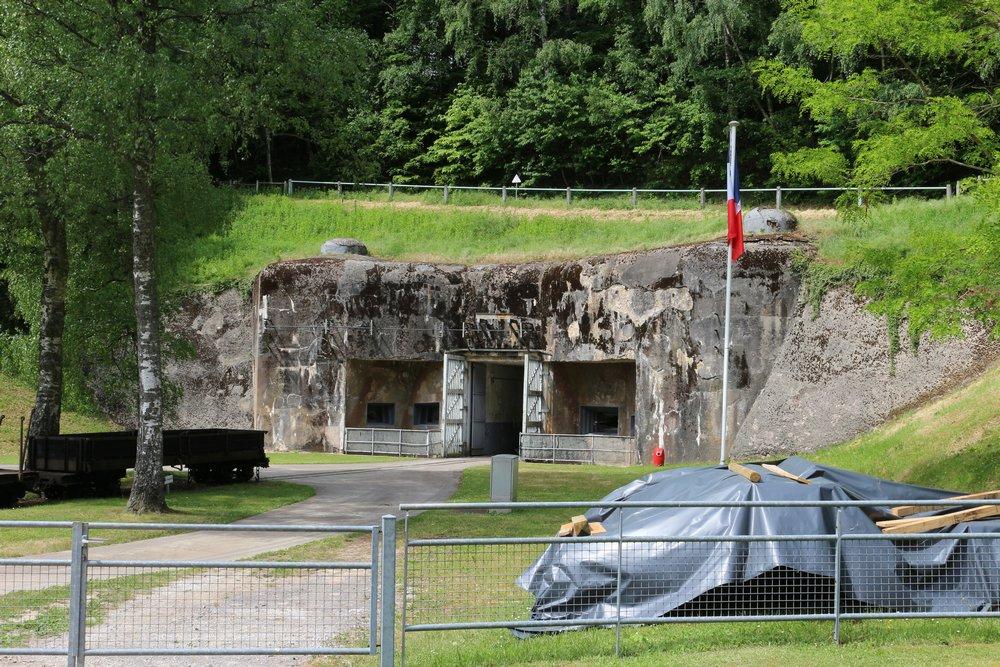 Maginotlinie - Fort Simserhof