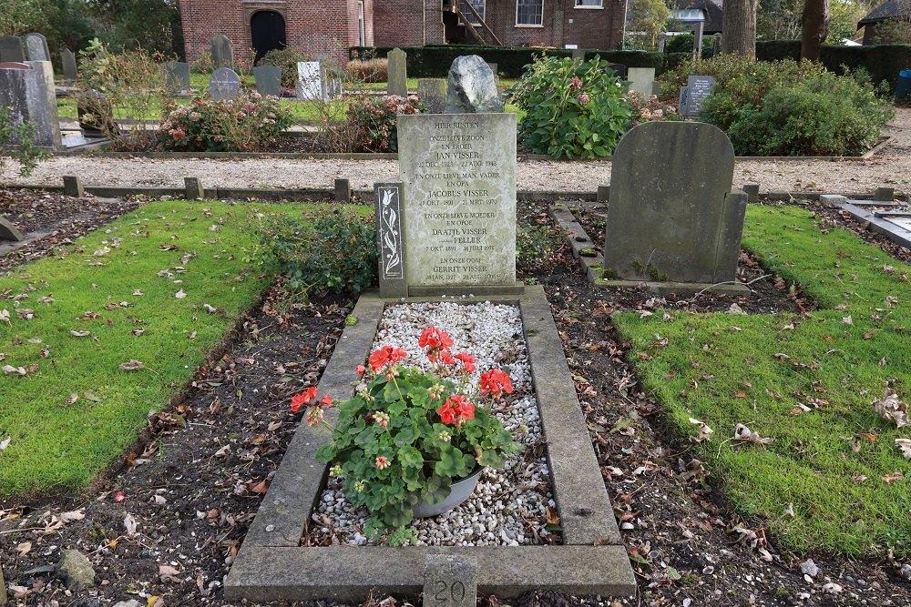 Dutch War Grave Municipal Cemetery Wijdenes