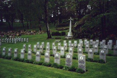 Commonwealth War Graves Göteborg-Kviberg