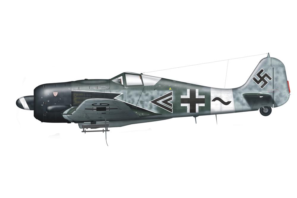 Crashlocatie Focke Wulf-Fw 190A-8 175049