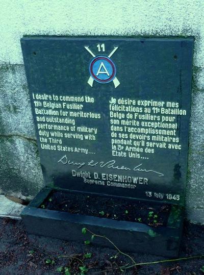 Monument 11e Belgische Fusilier Bataljon