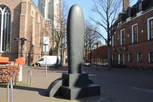 Bombardment Memorial 'A solidified memory' Middelburg