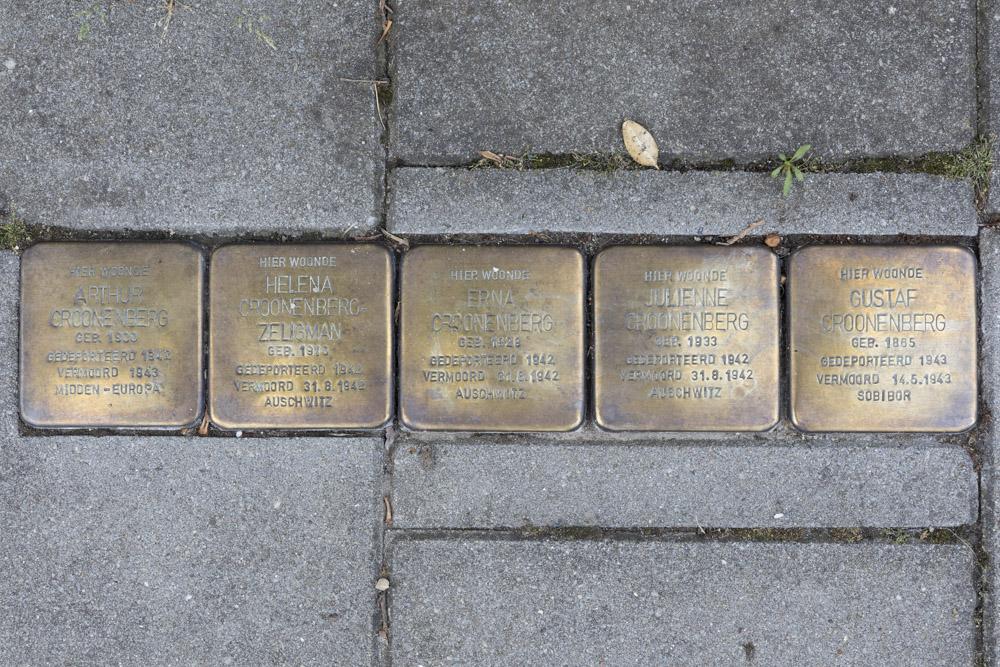 Stumbling Stones Peperstraat 52 (nu Peperstraat 17)