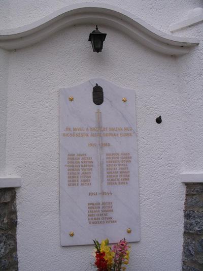 War Memorial Lukacshaza