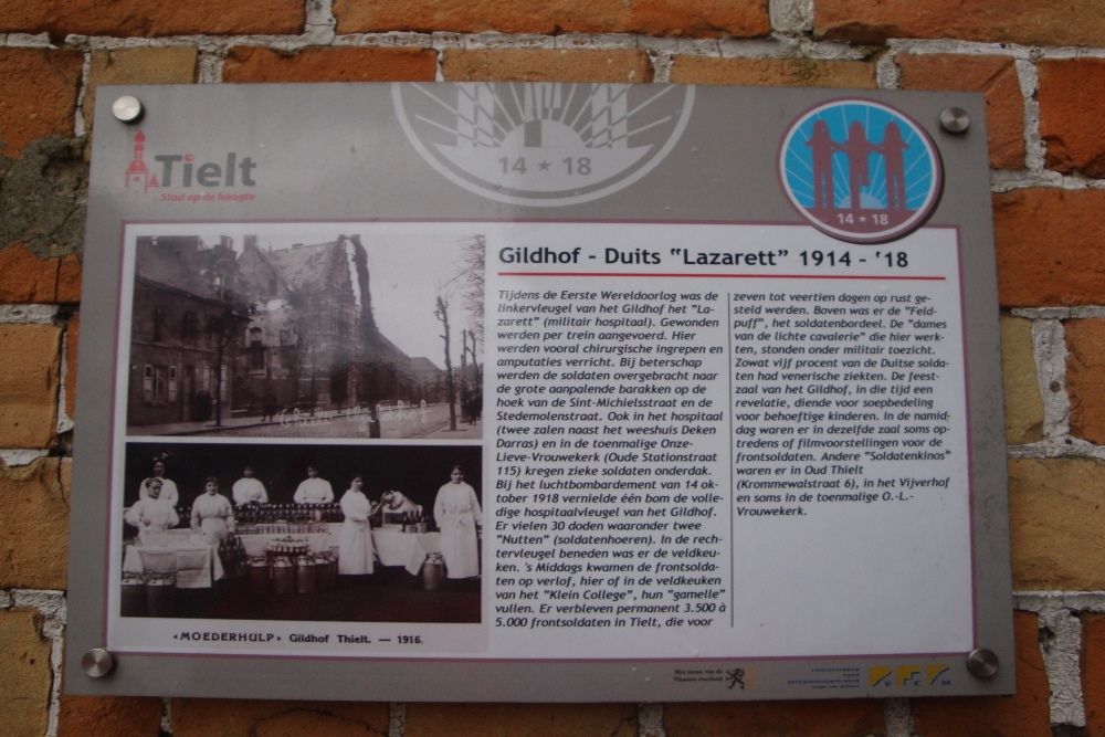 Gildhof Tielt First World War