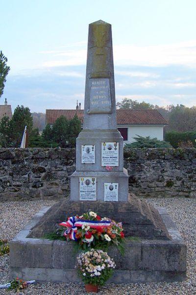 War Memorial Le Nizan