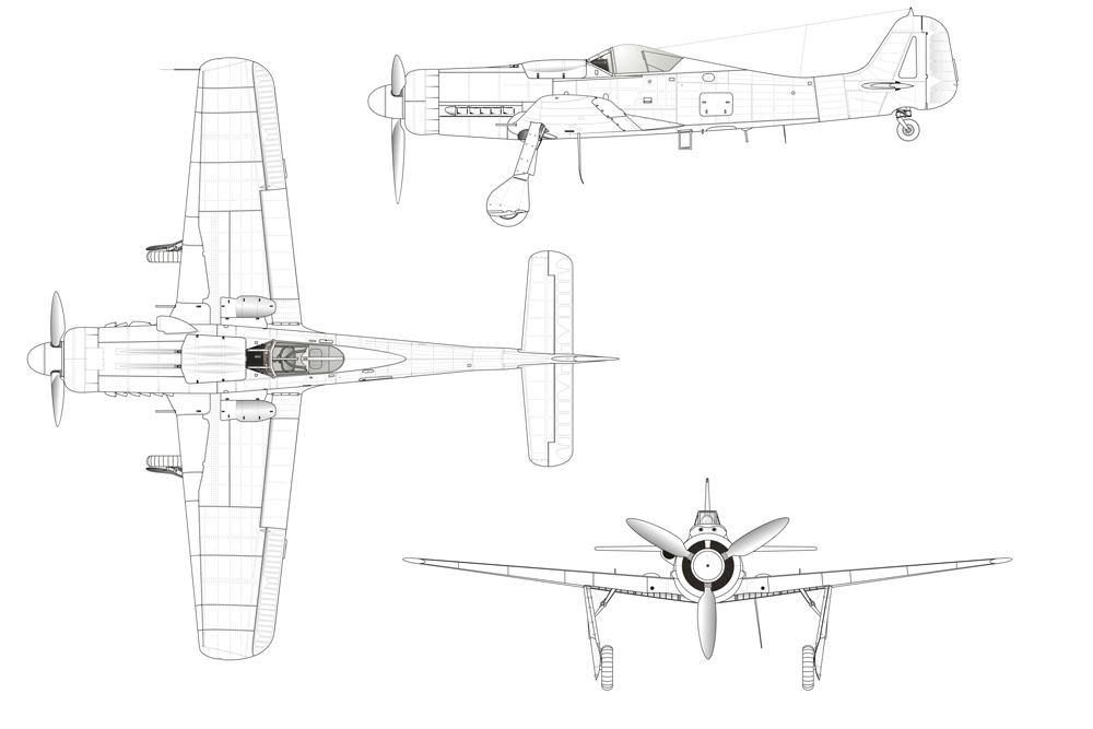 Crashlocatie Focke-Wulf Fw 190D-9 600380