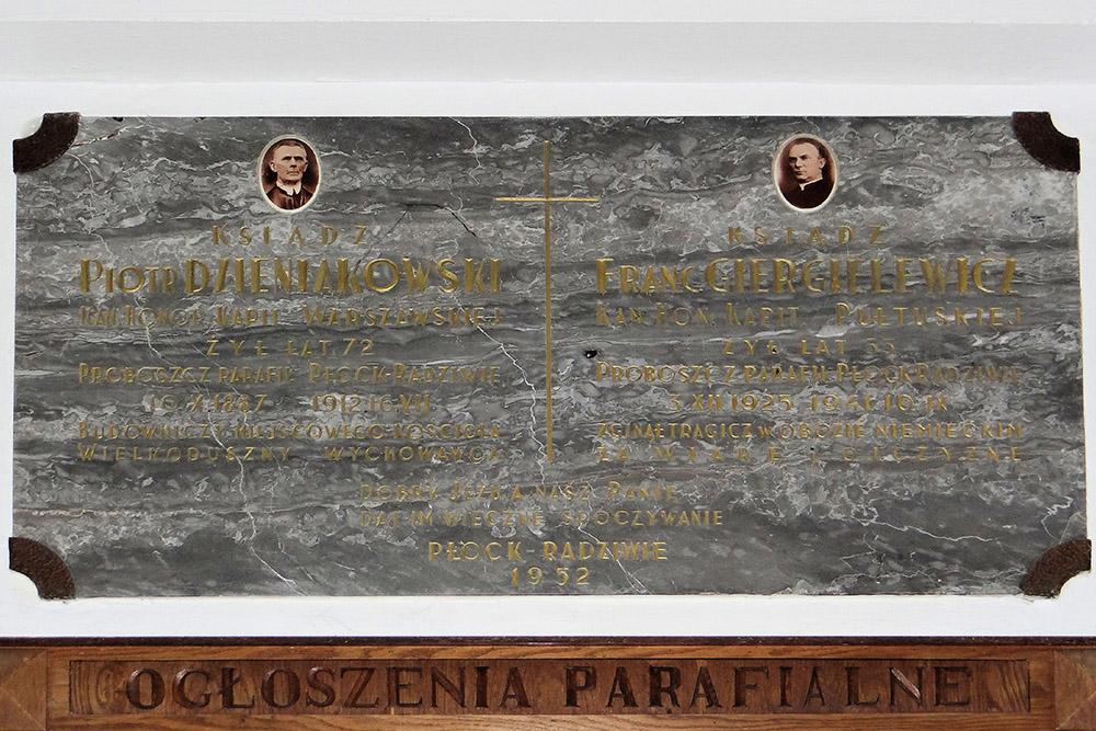 Plaque Franc Giergillewicz