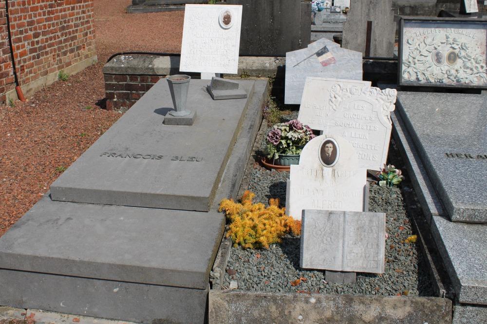 Graves Civilian Casualties Basècles