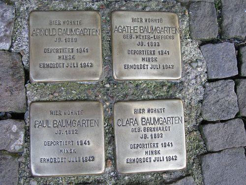 Stumbling Stones Große Straße 29
