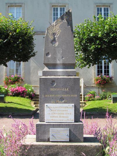 Oorlogsmonument Bénouville
