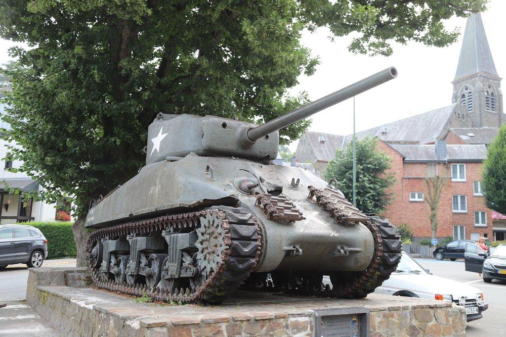 M4A1 Sherman Tank La Roche-en-Ardenne