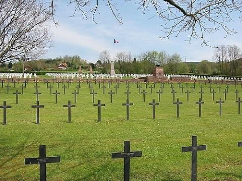 French-German War Cemetery Bertrimoutier