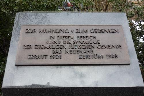 Monument Synagoge Bad Neuenahr