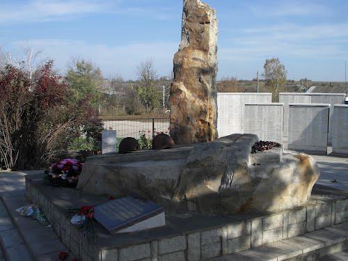Mass Grave Soviet Soldiers Bolshaya Vereyka