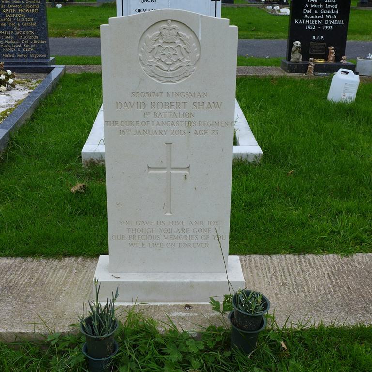 Britse Oorlogsgraven Barrow Cemetery