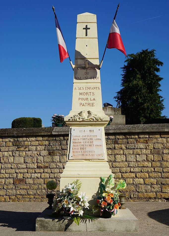 World War I Memorial Le Val-Saint-Éloi