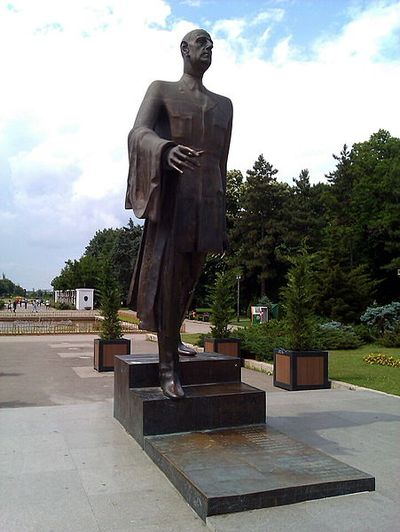 Statue Charles de Gaulle Boekarest