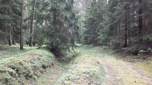 Festung Schneidemühl - Trench