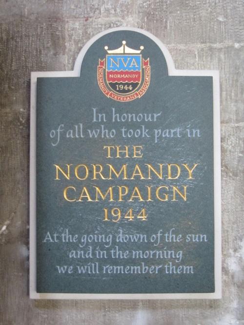 Plaquette Normandië Campagne