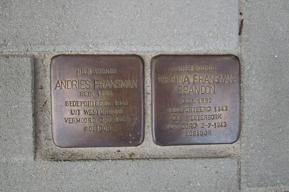 Remembrance Stones Jekerstraat 79