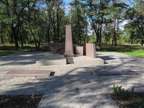 Mass Grave Soviet Soldiers Krivoy Rog