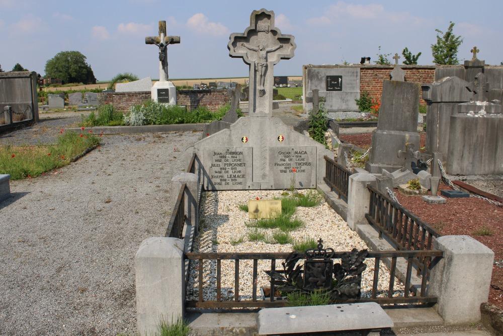 Belgische Oorlogsgraven Braives