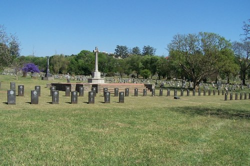 Commonwealth War Graves Mountain Rise Cemetery