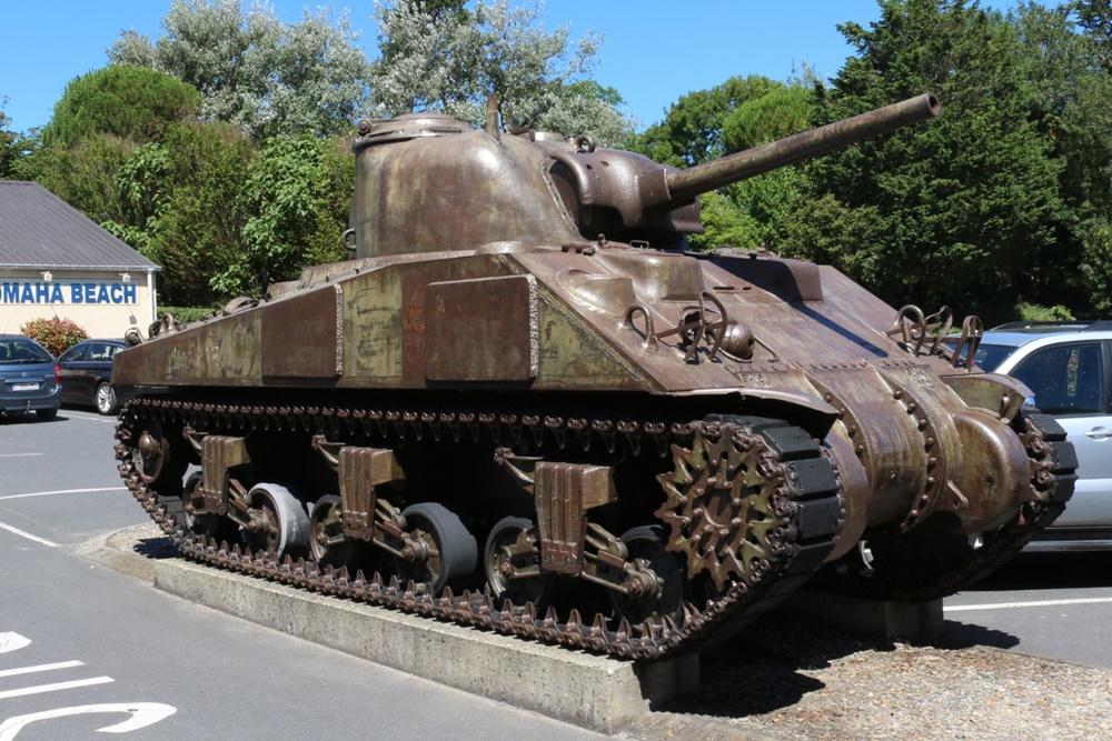 M4A4 Sherman Tank Saint-Laurent-sur-Mer