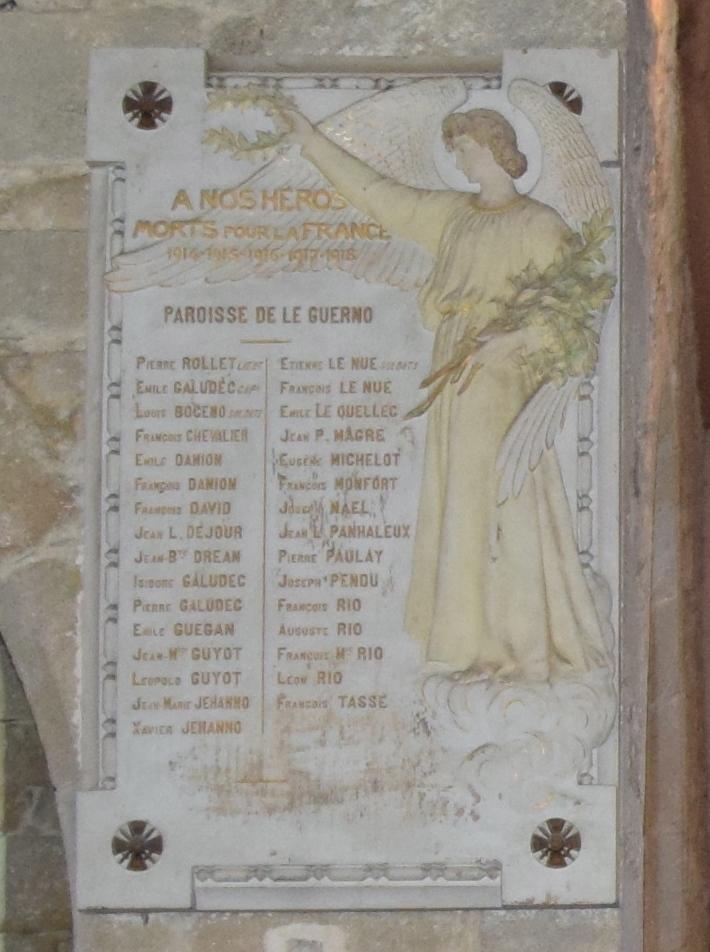World War I Memorial Parish of Guerno