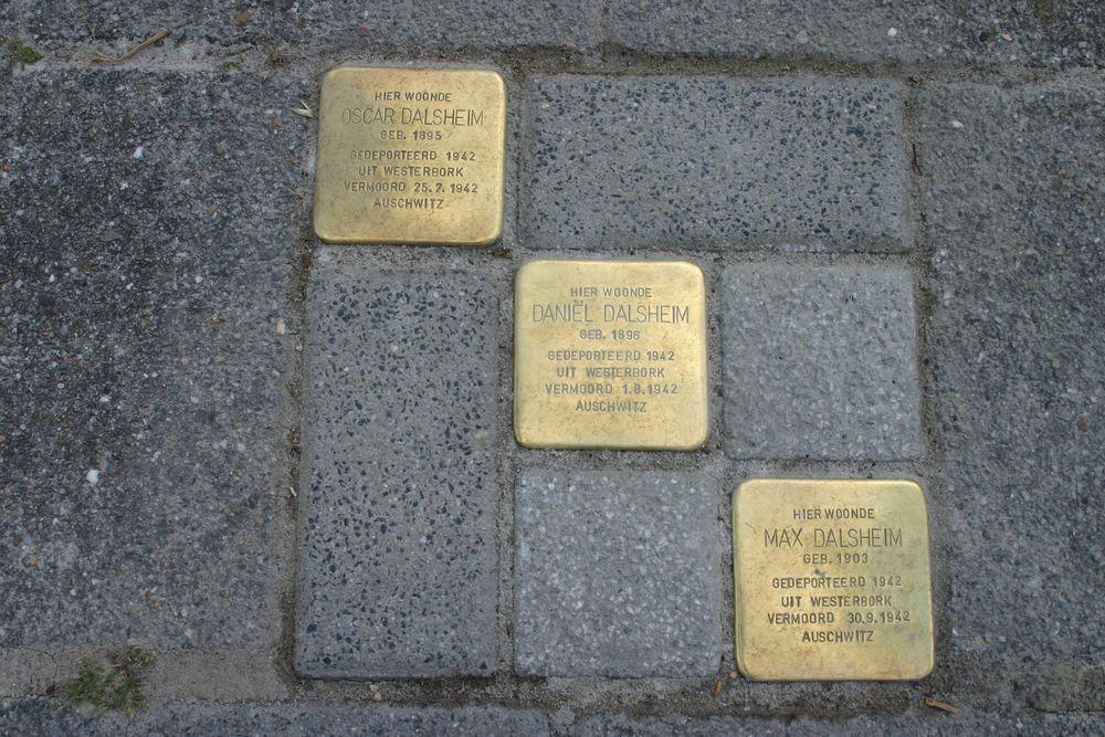 Stolpersteine Zuiderstraat 42