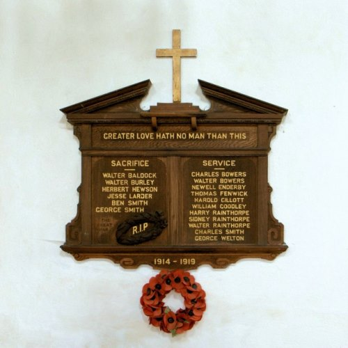 War Memorial St. John the Baptist Church