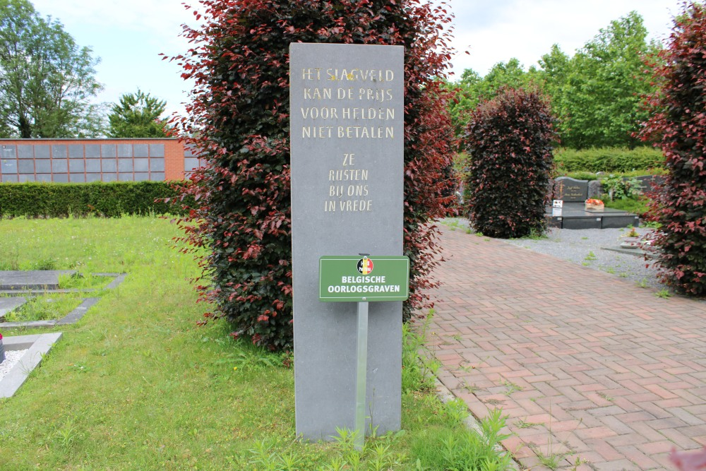 Monument en Ereperk Oudstrijders Nederokkerzeel