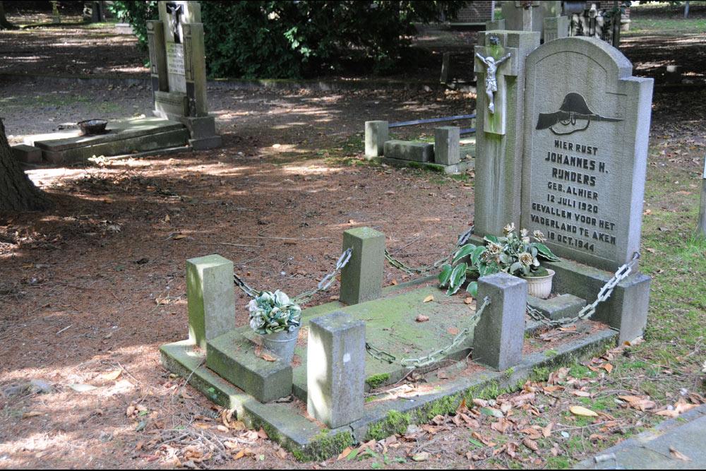 Dutch War Graves Old General Cemetery Valkenswaard